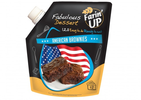 NOUVEAU : Farin'UP AMERICAN BROWNIES